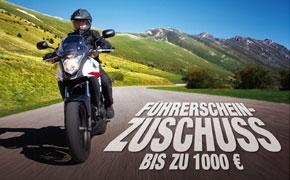 Führerscheinzuschuss bis zu 1000,-€